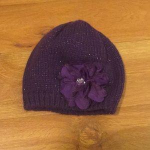 So cute! Fashion hat in purple